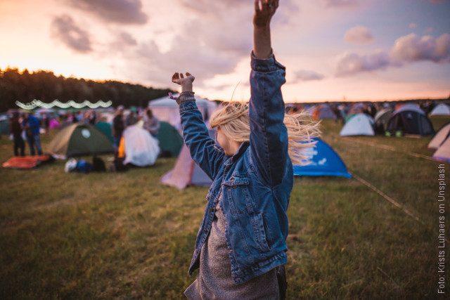 Festival-Aktivitäten gegen Langeweile